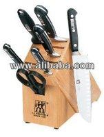 J.A. Henckels Pro S Stainless-Steel 8-Piece Knife Set
