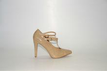 Pumps Dress Shoes Beige Laquer