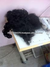 INDIAN HUMAN HAIR SILKY SHINY STRAIGHT MACHINE WEFT HAIR SUPPLY TO CHENNAI MOTHER TERESA HAIR EXPORTS