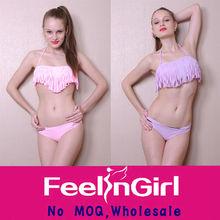 Wholesale Top Sale Padded Tassel Bikini Young Girl Sexy adult bikini set