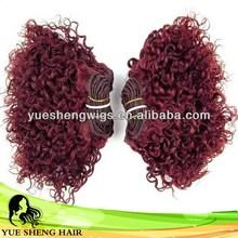 New professional qingdao yotchoi full cuticle hair weft
