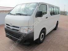 New Car Toyota Hiace Bus 2014
