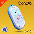 Novidade crianças telefones com design colorido e construído- em alta sensibilidade gps chip concox gk301