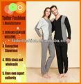 2014 yeni aşıklar modal salonu aşınma seti, kadın ve erkek Jersy pijama örme, uzun kollu pijama, guangzhou, toptan