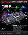 Msd-5 profesional usb dj mezclador mp3 reproductor de