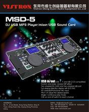 MSD-5 Professional DJ USB MP3 Mixer Player