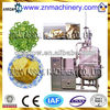 Stainless Steel Thermal Oil Vacuum Fried Fruit Chips Equipment