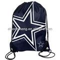 Dallas cowboys back pack/bolsa bolso de lazo/de mano de la nfl nueva mochila de gran logotipo