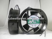 plastic impeller 172x150x51mm ac motor external cooling fan