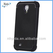 Football Dot Design Silicone + Plastic Hard Case For Samsung Galaxy S4