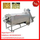 Large Type Vegetable Washer & peeler vegetable fruit carrot potato radish yam taro washing and peeling machine