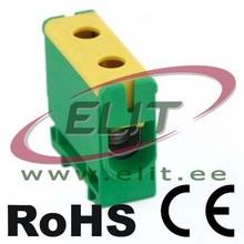 Yellow-green 35-240 mm2 Terminal Block for Al/Cu Conductors