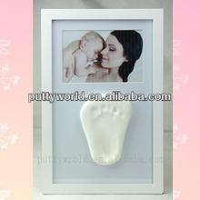 Keepsake baby Christmas Gift imprint clay