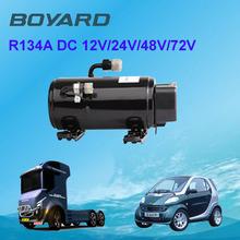 Hot Promo! R134A portable air conditioner compressor 12v for ar condicionado electric car air condition solar aircons