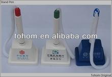 cheap promotional plastis desk pen stand set