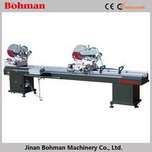 Aluminum and pvc profiles mini saw machine