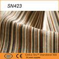 2015 popoluar faixa de estilo boa qualidade tecidodeveludo sofa