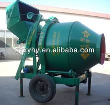 Popular Hongying JZC300 self loading concrete mixer plant