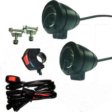 motor bike led,10w chip motor,10w chip spot, auxiliary light for harley davidson, auxiliary light for honda cb unicorn 150
