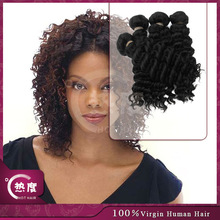 100% Unprocessed short indian remy deep wave hair weave 6a grade virgin hair indain hair