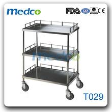 Hospital medical utility trolley T029