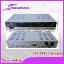 dvb-s twin protocol receiver. FTA .cheap . OEM factory