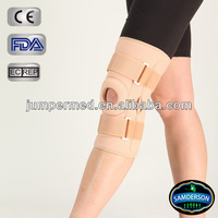 Open patella neoprene knee braces / medical therapy support