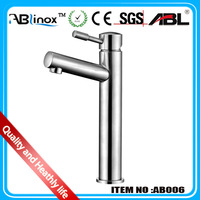 ABL stainless steel contemporary basin faucet