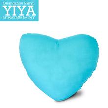 heart shape good quality car seat cushion cotton custom printing cushion cover