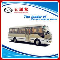 Wuzhoulong Hot Sale Mini Toyota Type Coaster Bus Cummins Engine