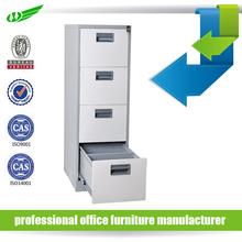 Vertical 4 drawer knock down steel cabinet divider designs