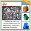 Professional manufacturer! Titanium carbide cermet rods blank (perfect wear-resistant parts)