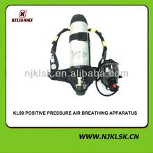 Appareil respiratoire d'air SCBA / cylindre de Fiber de carbone / d'air à pression Positive appareil respiratoire