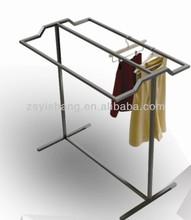 sports clothing child clothing metal hanging display racks