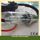 Super Brighter! 35W Xenon Bright Motorcycle Headlight With Slim Normal Ballast H4 H6 Xenon Bulbs