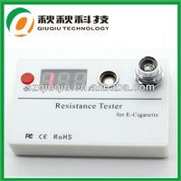 Ecig digital cartomizer and atomizer ohm meter resistance tester in overseas market