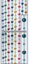 fashion design colorful global bead plastic bead door curtain
