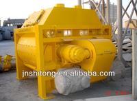 CE certifed concrete mixer JS1000 for HZS50 and HLS60 concrete batching plant