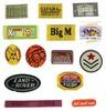 fire-retardant overalls cloth woven labels