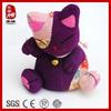 Handmade cute cloth romantic cat stuffed cute cat doll