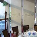 leve isolamento acústico de madeira decorativa parede divisória do escritório