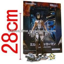 Wholesale Shingeki no Kyojin Attack on Titan Mikasa Ackerman Acion Figure