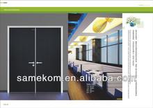 Large Size Restaurant Wooden Entrance Door