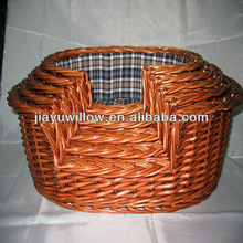 High Quality wicker basket small pet house