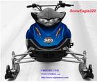 COPOWER 320CC snowmobile,plastic sledge,plastic snow sledge,polaris snowmobile (Direct factory)