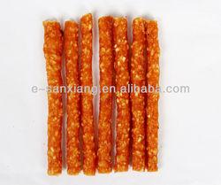 chicken sticks with rice dog treats/natural dog snacks