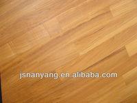 manufacturing multi-layer Burma Teak parquets floor