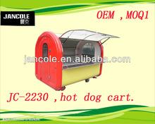 2014 new cart JC-2230 Jancole OEM bread hot dog electrical/gas street mobile food concession van cart