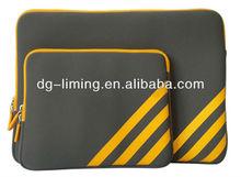 custom 15.6 inch 12.5 inch gearmax neoprene laptop sleeve