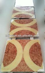 China manufacturer polished marble flooring tile for indoor flooring